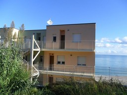 Abruzzo at the countryside Beach apartment with two bedrooms in prestigious block overlooking the sea