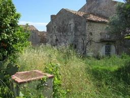 100sqm ruin with out building and 1000sqm of land 5km to Lanciano